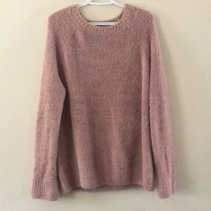 L.A. Hearts Long Pink Sweater